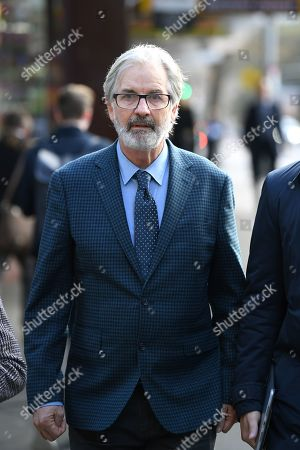 Australian actor John Jarratt arrives at the Downing Centre Local Court in Sydney, New South Wales, Australia, 03 July 2019. Jarratt has pleaded not guilty to allegations of raping a former housemate in 1976, saying that they had consensual sex, media reported.