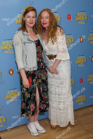 Stock Photo of Niamh McGrady & Victoria Yeates