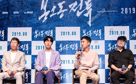 Editorial picture of 'The Battle: Roar to Victory' film press conference, Seoul, South Korea - 03 Jul 2019