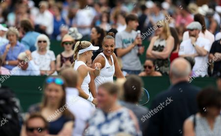 Editorial picture of Wimbledon Tennis Championships, Day 3, The All England Lawn Tennis and Croquet Club, London, UK - 03 Jul 2019
