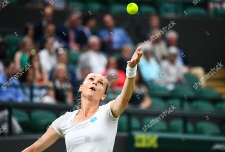 Stock Picture of Magdalena Rybarikova during her Ladies' Singles second round match