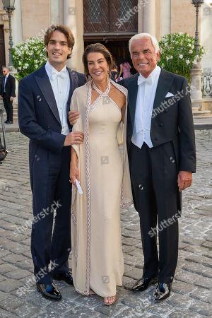 Editorial image of Wedding of Arturo Pacifico Griffini and Sophia Doyle, Vienna, Austria - 29 Jun 2019
