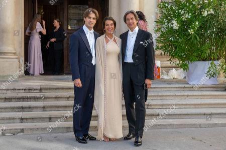 Editorial photo of Wedding of Arturo Pacifico Griffini and Sophia Doyle, Vienna, Austria - 29 Jun 2019