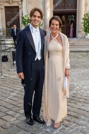 Editorial picture of Wedding of Arturo Pacifico Griffini and Sophia Doyle, Vienna, Austria - 29 Jun 2019