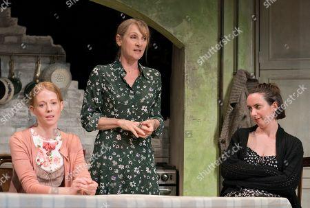 Zoe Boyle as Harriet, Lesley Sharp as Sal, Kate O'Flynn as Polly