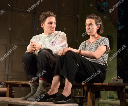 Laurie Davidson as Tom, Kate O'Flynn as Polly