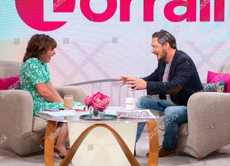 Editorial picture of 'Lorraine' TV show, London, UK - 03 Jul 2019