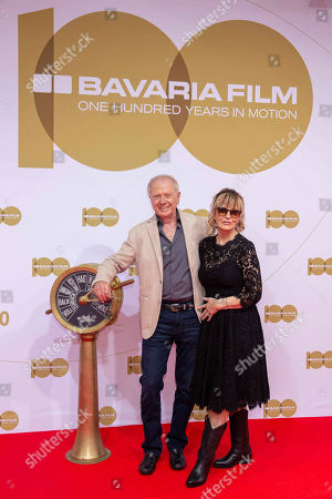 Wolfgang Petersen and wife Maria