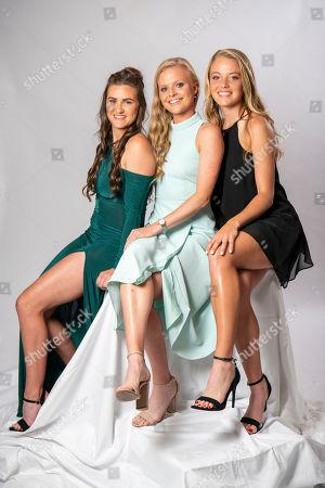 Katie Dunn, Harriet Dart and Katie Swan