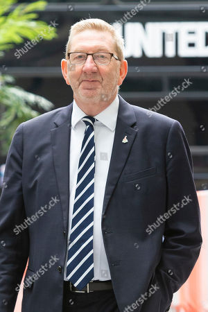 Stock Picture of General Secretary of Unite the Union Len McCluskey arrives at the BBC. Later he will appear on the Andrew Marr Show.