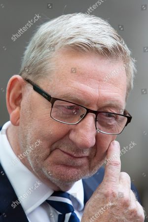 General Secretary of Unite the Union Len McCluskey leaves the BBC. He leaves after appearing on the Andrew Marr Show.