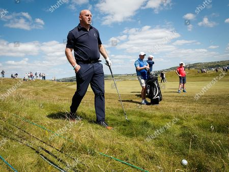 Stock Image of Keith Wood on the 6th hole