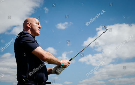 Stock Photo of Keith Wood on the 6th hole