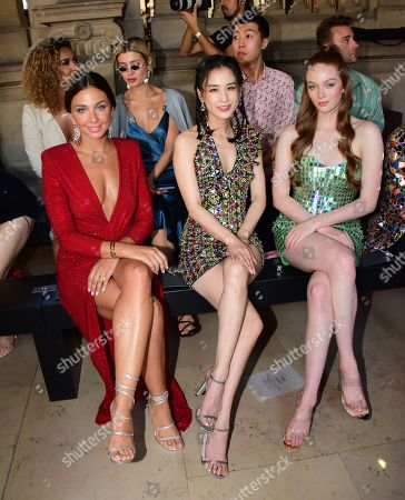 Editorial picture of Rami Kadi show, Front Row, Fall Winter 2019, Haute Couture Fashion Week, Paris, France - 02 Jul 2019