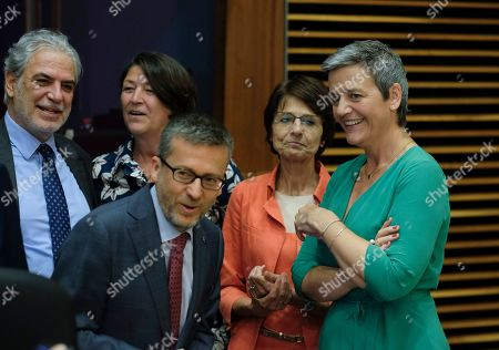 Editorial picture of Weekly college meeting of the European Commission in Brussels, Belgium - 03 Jul 2019
