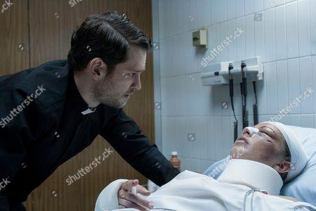 Christopher von Uckermann as Father Ramiro Ventura and Alexa Martin as Lucia
