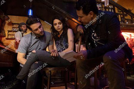 Christopher von Uckermann as Father Ramiro Ventura, Gisselle Kuri as Nancy Gama and Gabriel Marino Second Unit Director