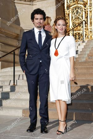 Stock Picture of Damien Chazelle and Olivia Hamilton