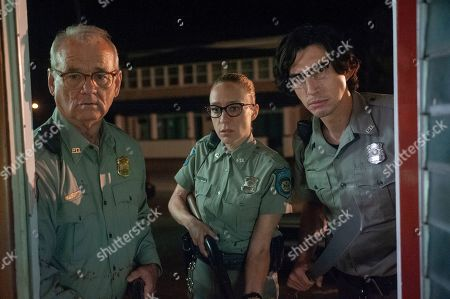 Bill Murray as Officer Cliff Robertson, Chloe Sevigny as Officer Minerva Morrison and Adam Driver as Officer Ronald Peterson