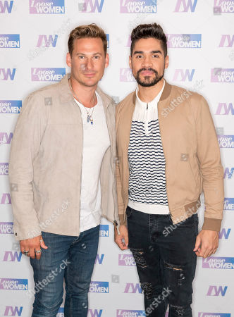 Lee Ryan and Louis Smith MBE