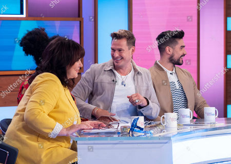 Coleen Nolan, Lee Ryan and Louis Smith MBE