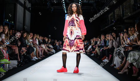 Editorial photo of Rebekka Ruetz - Runway - Mercedes-Benz Fashion Week Berlin SS 2020, Germany - 03 Jul 2019