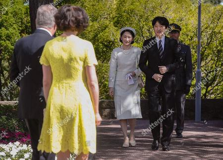 Editorial picture of Japanese Crown Prince Akishino and Crown Princess Kiko visit to Finland - 03 Jul 2019