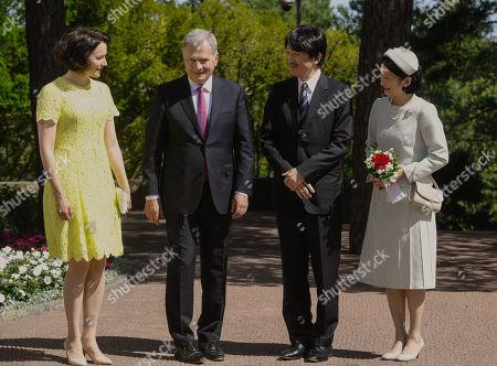 Editorial photo of Japanese Crown Prince Akishino and Crown Princess Kiko visit to Finland - 03 Jul 2019