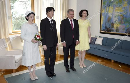 Editorial image of Japanese Crown Prince Akishino and Crown Princess Kiko visit to Finland - 03 Jul 2019