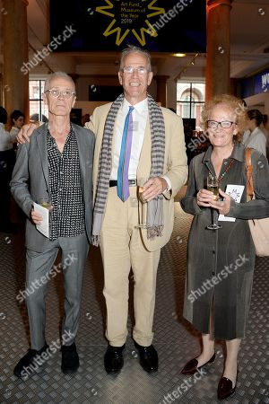 David Batchler, Sandy Nairne, Fiammetta Rocco
