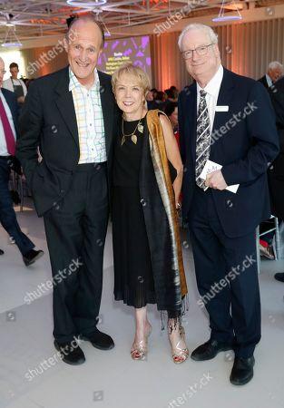 Stock Photo of Peter Bazalgette, Sue Owen and Chris Smith, Chris Smith