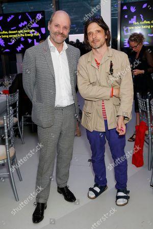 Gavin Turk and Jeremy Deller