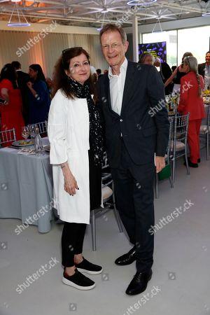 Sally Bacon and Sir Nicholas Serota