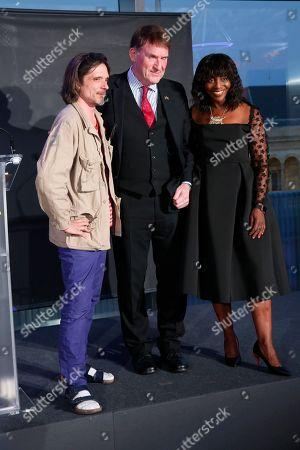 Jeremy Deller, David Anderson and Brenda Emanus