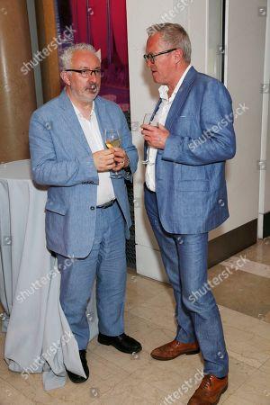 Michael Morris and Adrian Evans