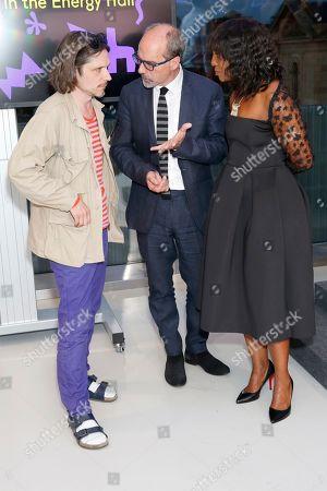 Jeremy Deller, Stephen Deuchar and Brenda Emanus