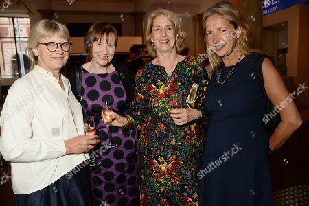 Vicken Gormley, Guest, Penny Johnson Jerald and Iwona Blazwick