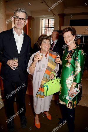 Edmund De Waal, Edwina Sassoon and Melanie Clore