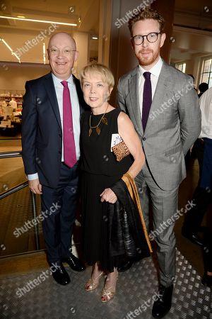 Ian Blatchford, Sue Owen and Nicholas Cullinan