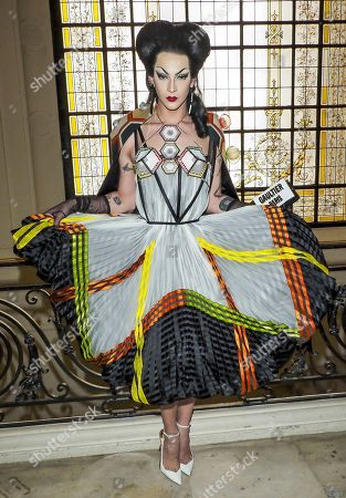 Editorial image of Jean Paul Gaultier show, Front Row, Fall Winter 2019, Haute Couture Fashion Week, Paris, France - 03 Jul 2019