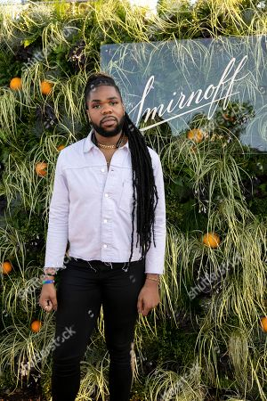 MNEK at the launch party for Smirnoff's new Spirit Drink, Smirnoff Infusions