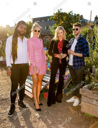 Editorial picture of Smirnoff Infusions 'Pick Your Own' allotment party, London, UK - 03 Jul 2019