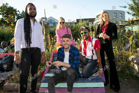 Editorial image of Smirnoff Infusions 'Pick Your Own' allotment party, London, UK - 03 Jul 2019