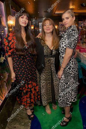 Zara Martin, Emma Alexander and Tigerlily Taylor