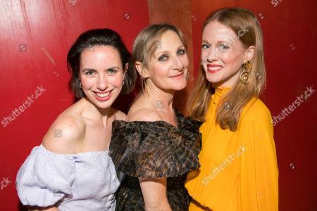 Kate O'Flynn (Polly), Lesley Sharp (Sal) and Zoe Boyle (Harriet)