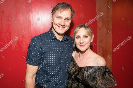 David Morrissey (David) and Lesley Sharp (Sal)
