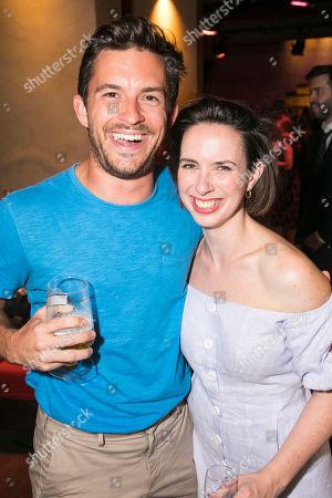 Jonathan Bailey and Kate O'Flynn (Polly)