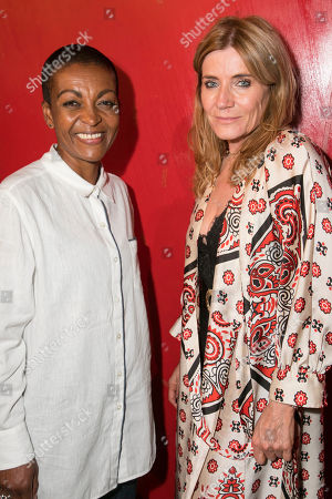 Adjoa Andoh and Michelle Collins