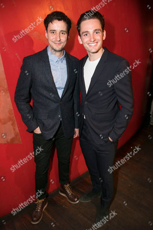 Stock Image of Sam Swainsbury (Carl) and Laurie Davidson (Tom)