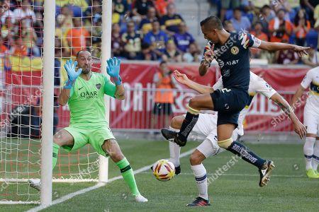 Editorial image of Boca Juniors Club America Soccer, Harrison, USA - 03 Jul 2019